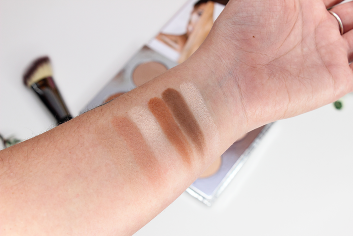 It Cosmetics You Sculpted Contour Palette Swatches