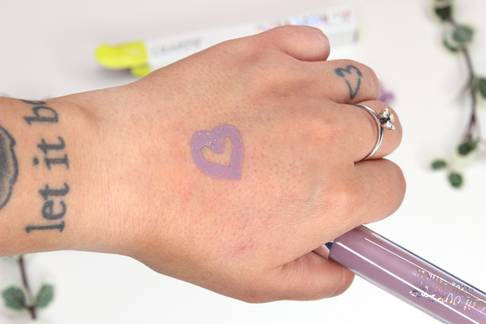 ColourPop Ultra Satin Lip in Marshmallow Swatch