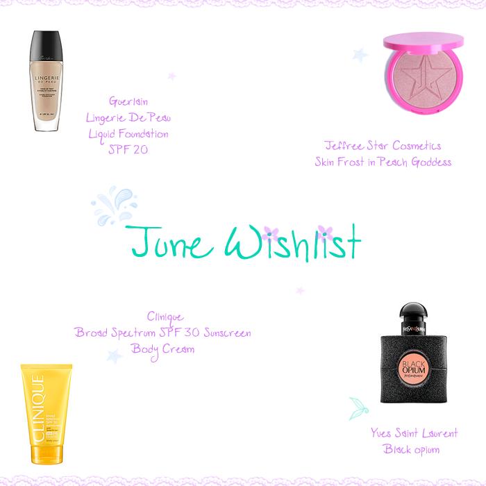 June 2016 Wishlist
