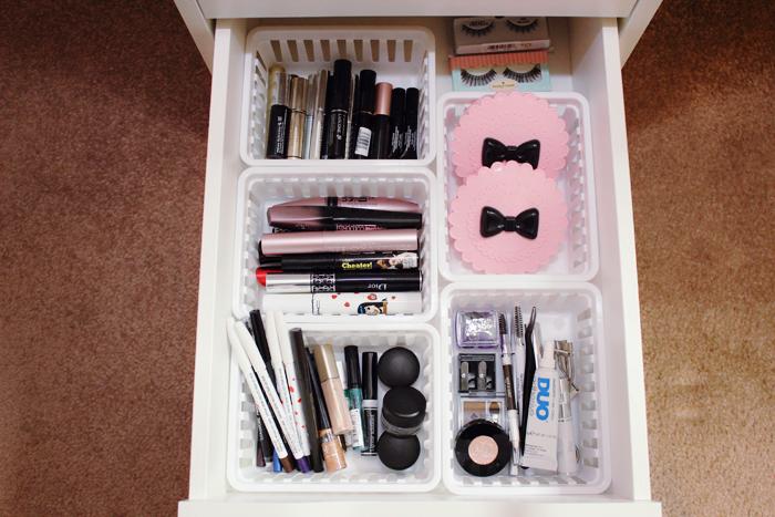 Updated makeup storage: Part 1