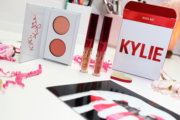 Kylie Cosmetics Kiss Me Set