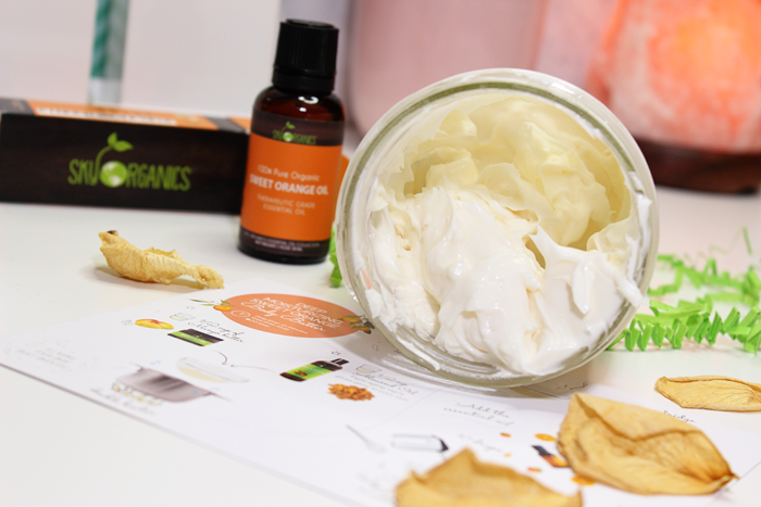 Sky Organics DIY Sweet Orange Body Butter Kit
