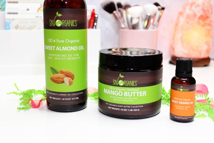 Sky Organics DIY Sweet Orange Body Butter Kit