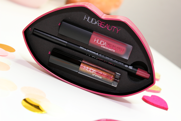 Huda Beauty Contour & Strobe Lip Set in Trophy Wife