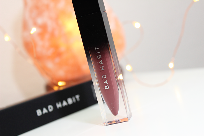 Bad Habit Beauty Liquified Matte Lipstick in Trophy Life