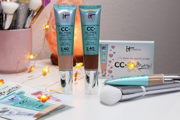 IT Cosmetics Your Skin But Better CC+ Cream Oil-Free Matte