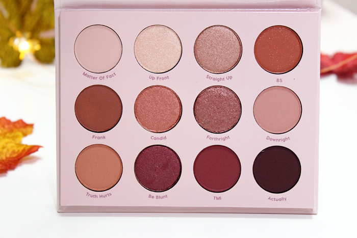 ColourPop Pressed Powder Shadow Palette in Give It To Me Straight