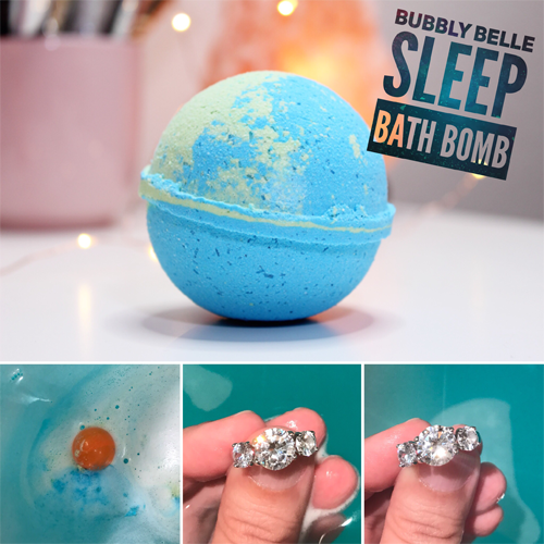 Bubbly Belle Sleep Bath Bomb