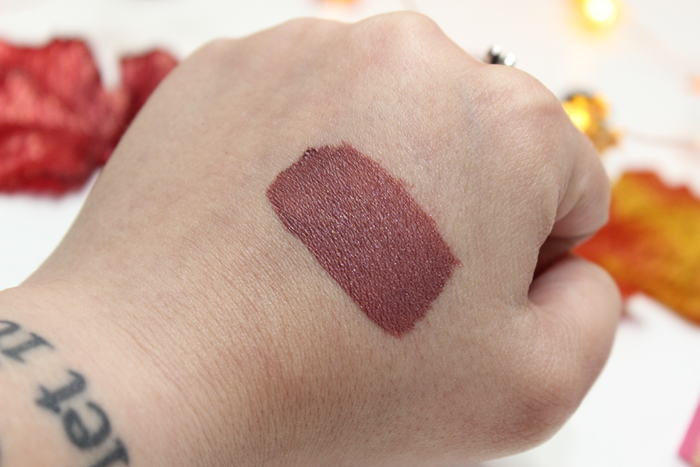 Sugarpill Liquid Lip Color in Pillow Fight