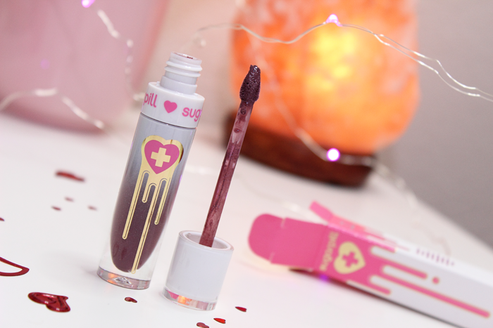 Sugarpill Liquid Lip Color in Vertigo